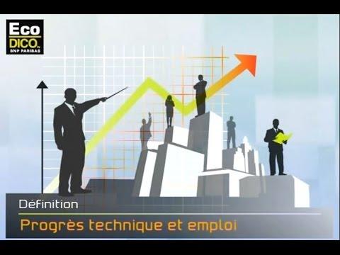 Progrès technique et emploi