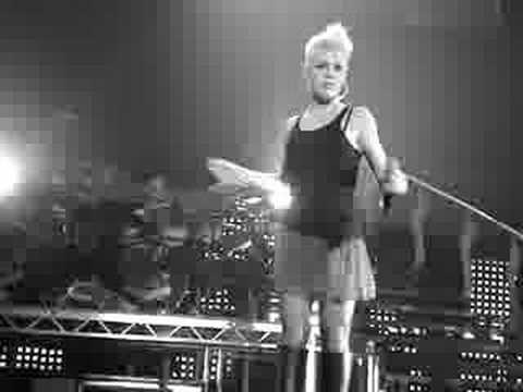 P!NK really funny, her dance moves :-)
