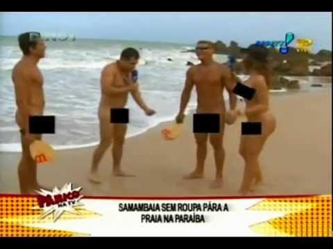 P Nico Na Tv Danielle Souza Mulher Samambaia Praia De Tambaba