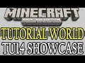 Minecraft ( TU14 ) Xbox 360 Tutorial World Showcase Title Update 14