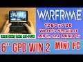 GPD WIN 2 Warframe - 128 GB SSD 8GB RAM Mini PC Intel m3-7Y30 HD Graphics 615