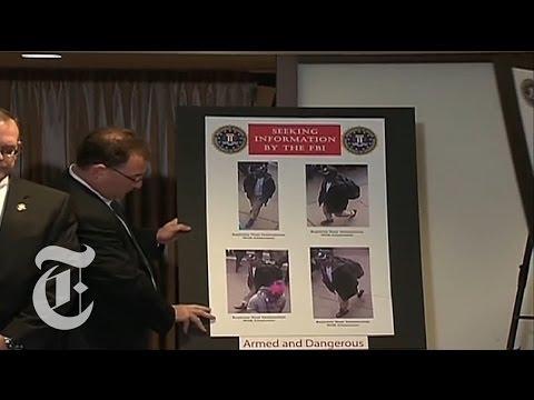 F.B.I. Identifie les suspects à Boston Marathon Explosions - 2013