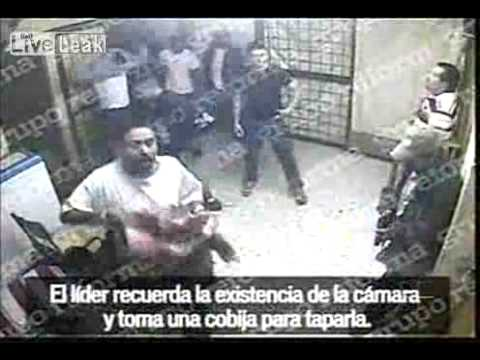 CCTV Video Of Drug Cartel Busting Members Out Of Prison
