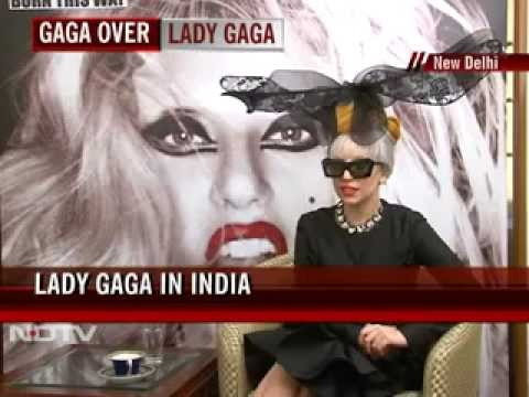 Lady Gaga's Namaste to India - Interview