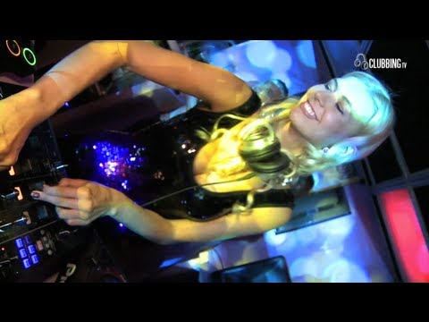 Clubbing TV presents PYHU - Katy Isterika Djane-Violinist Live Show @ Glam Club Lyon - France