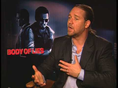 Interview - Russell Crowe - star of Body Of Lies, Robin Hood, Gladiator & More