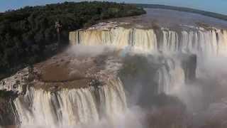 Cataratas del Iguazu desde el drone