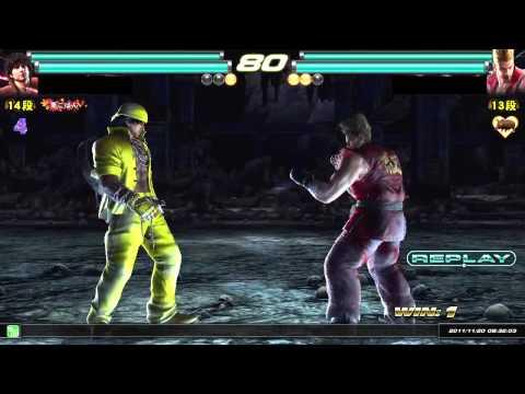 Tekken Tag Tournament 2 | ( Miguel \ Lars ) Vs. ( Paul \ Asuka ) HD