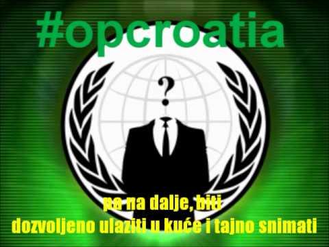 Anonymous prijeti Hrvatskoj poliiciji?