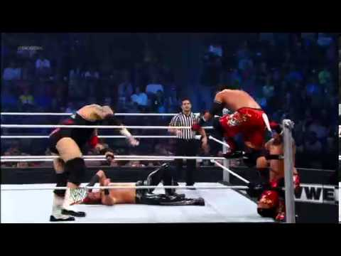 Brodus Clay & The Usos vs. 3MB: SmackDown, Dec. 7, 2012