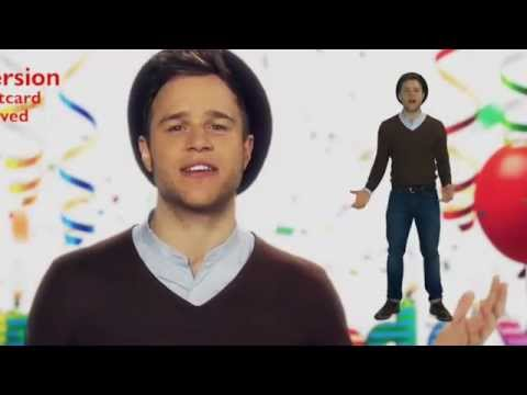 Olly Murs - Celebrity Fastcard (Happy Birthday)
