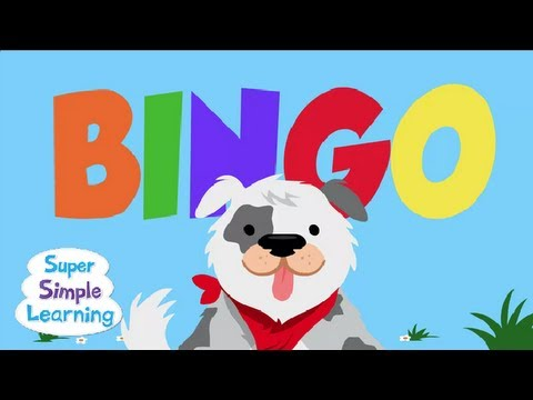 BINGO from Super Simple Songs