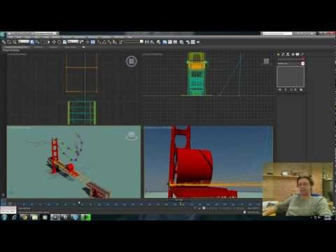 3ds Max Tutorial: Animating Creation in 3ds Max Pt 3: Organic Creation