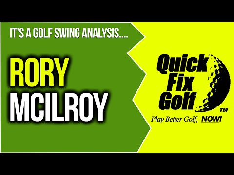 Golf Swing Analysis Online Rory McIlroy PGA