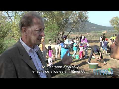 (English subtitles) Voluntary tree planting with Groasis waterboxx with Dutch Embassy and IUCN Spain