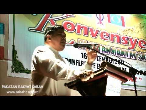 MAT SABU, PAS, PAKATAN RAKYAT SABAH CONVENTION @ MALAYSIA DAY 2011