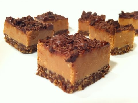 CHOC-CARAMEL FUDGE SLICE