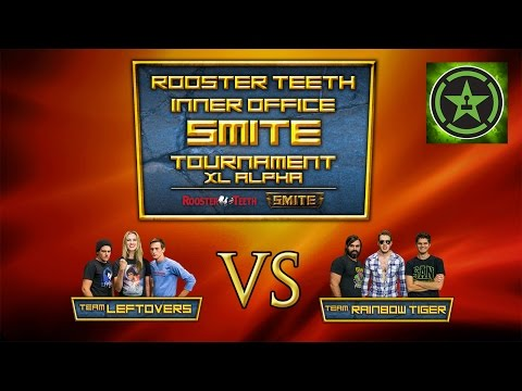 Rooster Teeth Inter-Office SMITE Tournament: Team Leftovers Vs Team Rainbow Tiger