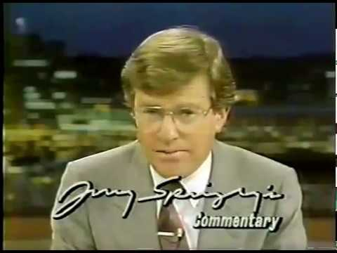 Jerry Springer 1987 Abortion Commentary on WLWT in Cincinnati