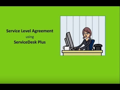 IT Service Level Agreement  using ManageEngine ServiceDesk Plus