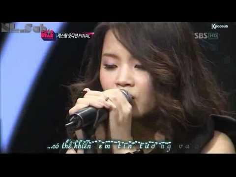[Vietsub][NL.Sub]For you - Lee Ha Yi's performance (Kpop star Ep10)