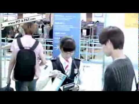 Fancam 120518 EXO-K at Incheon Airport to LA - Kai focus