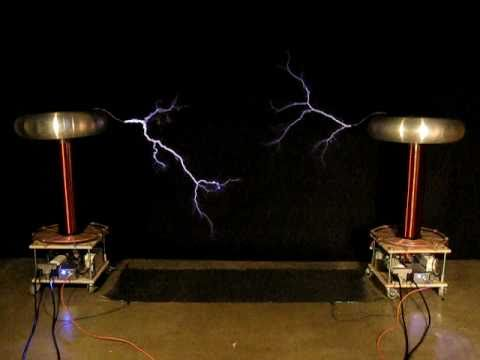 Dueling Banjos on musical Tesla Coils