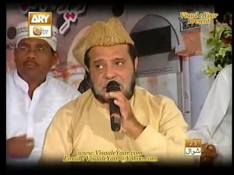 URDU NAAT(Abh Meri Nigahon Main)SIDDIQ ISMAIL IN QTV.BY   Naat E Habib