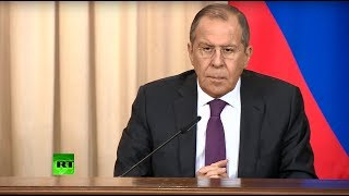 Лавров и глава МИД Омана подводят итоги переговоров — LIVE (18.02.2019 19:06)