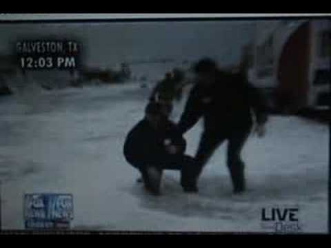 Geraldo Rivera vs. Hurricane Ike