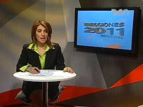 Corte informativo TVC Noticias - Elecciones 2011 (15:00 horas)