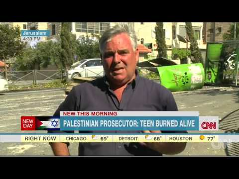 (Palestinian) prosecutor: Teenager was burned alive  7/5/14