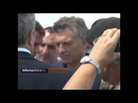 <b>Concordia.</b> Macri visit� zonas inundadas y prometi� obras