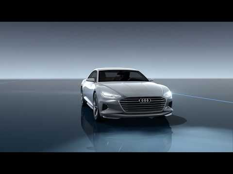 Audi zeigt neueste Lichttechnologie auf der IAA in Frankfurt
