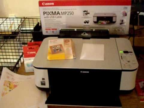 My New 3 in 1 CANON Printer ~ PIXMA MP250 ~ $32 at Walmart!