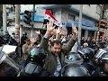Fernández Noroña Buenisimo discurso a Policías Federales y al pueblo en Protesta contra Peña Nieto