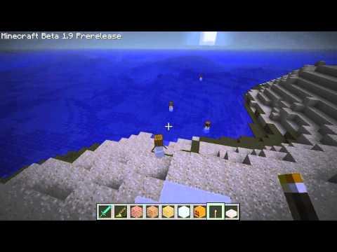 Minecraft 1.9 Pre-release Tour (Snow Golem)