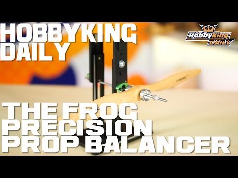 The Frog Precision Multi Prop Balancer - HobbyKing Daily - UCkNMDHVq-_6aJEh2uRBbRmw