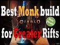 Diablo 3 RoS Best Monk Build For Greater Rifts (Fists Of Flying Dragon)