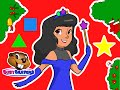 """Princess Shapes Christmas"" 