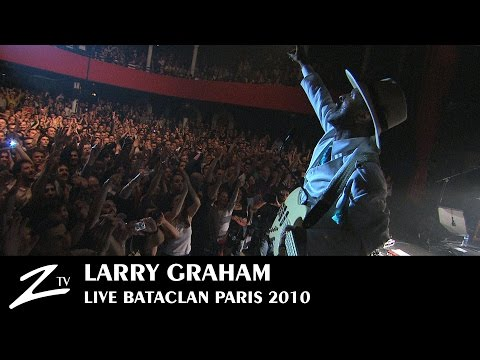 "Larry Graham - Live au Bataclan ""Bass Solo"" (Official)"