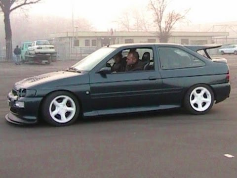 Ford Escort Cosworth RS Antilag &amp; Revs SOUND