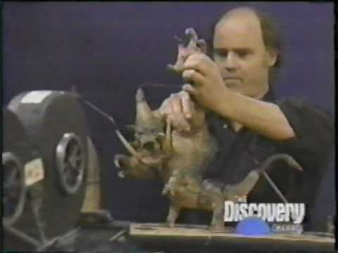 History of Stop Motion Animation Puppetry in Film - Part 1 of 3 - Willis O'Brien - Phil Tippett