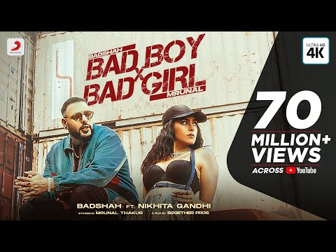 Badshah – Bad Boy x Bad Girl | Mrunal Thakur | Nikhita Gandhi | Trending Dance Party Hit 2021