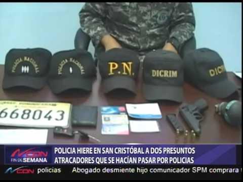 La Policía hiere en San Cristóbal a dos presuntos atracadores que se hacían pasar por agentes de la institución