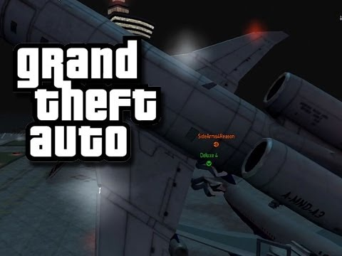 GTA - MODDED Funny Moments 3! (Planes!)
