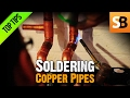 How to Solder Copper Pipes & Avoid Leaking Water