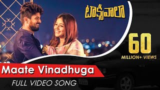 Maate Vinadhuga Full Video Song | Taxiwaala