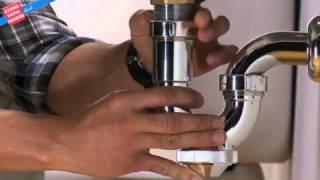 ¿Cómo instalar un sifón?