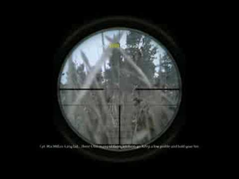CoD 4 - Modern Warfare - Sniper Mission Pt1 [HQ]